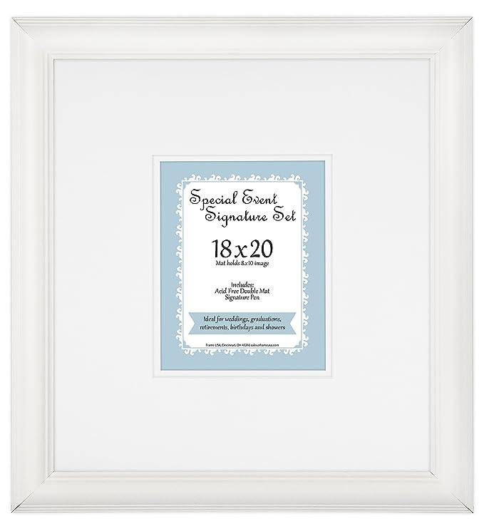 Amazon.de: Frame USA Hochzeit Signature Badematten-Set für 8 x 10 ...