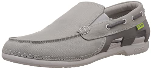 24fce03f08 Image Unavailable. Image not available for. Colour: crocs Men's Beach Line  Boat Shoe