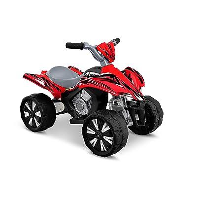 Kid Motorz Xtreme Quad Red 6V Ride On: Toys & Games