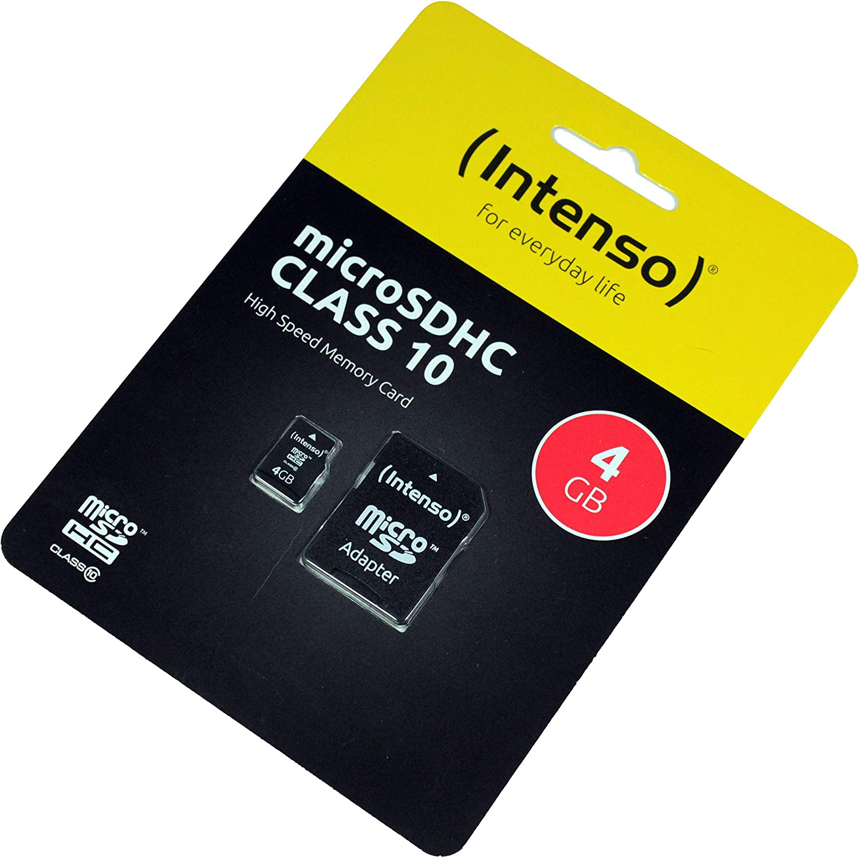 Huawei P40 Lite Speicherkarte Microsdhc 4gb Class 10 High Speed Sd Adapter