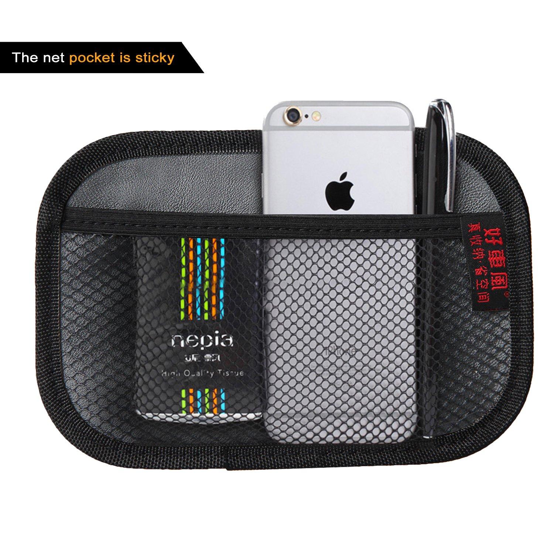 Raiphy Auto Organizzatore Auto tasca laterale Sacchetto di Stoccaggio Per Cellulare, Chiave, Carta di parcheggio, Soldi in tasca, ecc-2