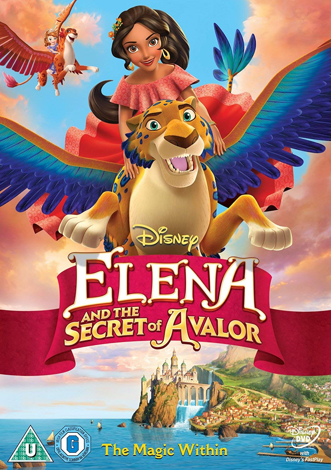 Amazon Com Elena The Secret Of Avalor Dvd Movies Tv
