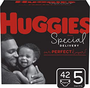 Huggies Special Delivery Hypoallergenic Diapers, Size 5, 42 Ct