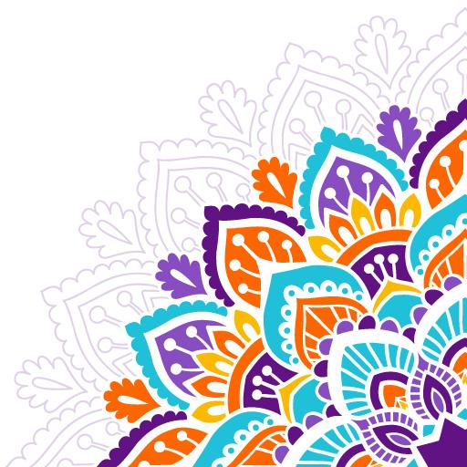 Amazon Com Mandala Art Drawing Colorful Mandala Creator