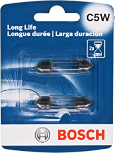 Bosch C5W Long Life Upgrade Minature Bulb, Pack of 2
