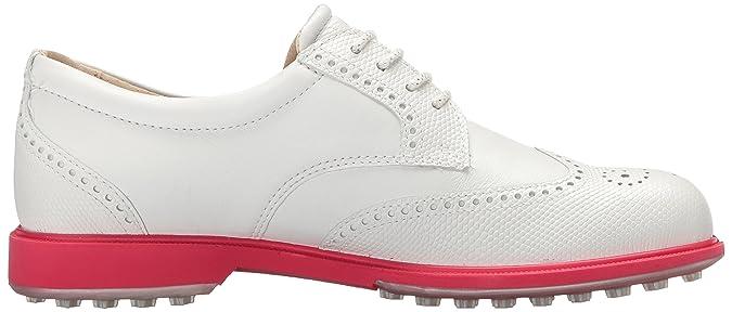 ECCO 102023, Damen Golfschuhe weiß weiß (weiß 59779) 36 EU