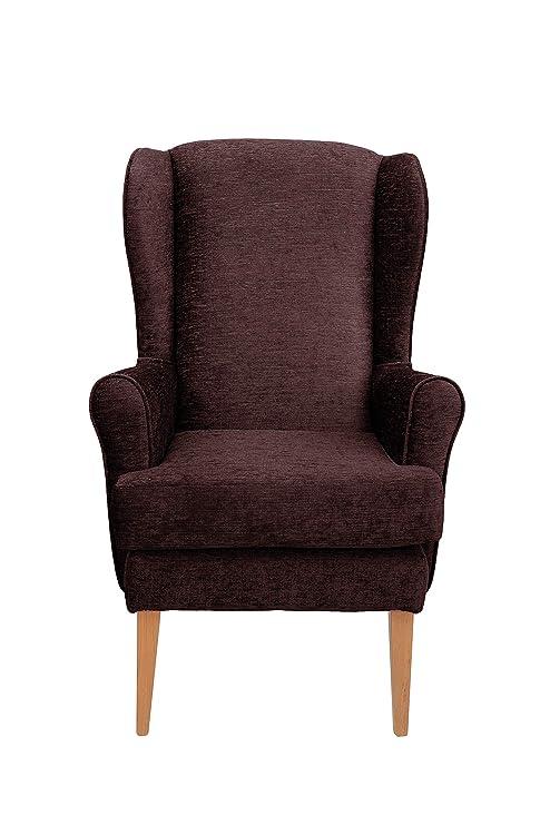 Alisson alta silla ortopédica silla en marrón 19 cm altura ...