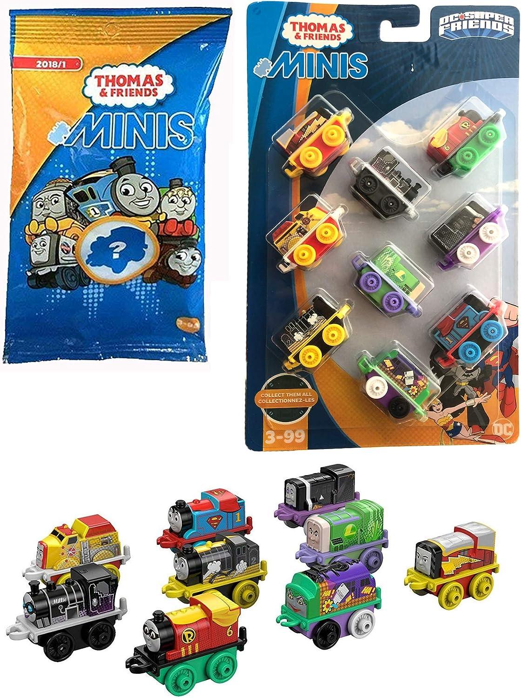 Hero Train Pack DC Friends Thomas 9 unidades Robin / Firestorm ...