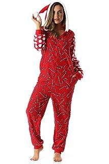 5bc5460249 Amazon.com  Just Love Holiday Sexy Santa Adult Onesie Pajamas  Clothing