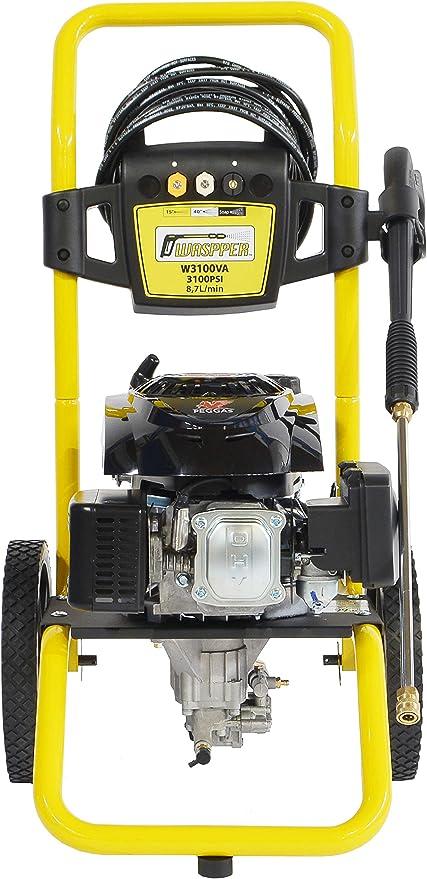 ✦ Hidrolimpiadora de motor de gasolina 3100 PSI ✦ 173cc con potencia de alta presión jet Hidrolimpiadora Profesional W3100VA portátil de alta calidad Limpiadora para autos y patios: Amazon.es: Jardín