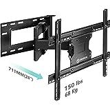 "A22 Full Motion articulating TV Wall Mount tilt Swivel Bracket fit for 32""-60"" 4k HD LED LCD Screens"