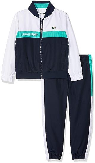 91917bc76ed929 Lacoste Boy s Clothing Set  Amazon.co.uk  Clothing