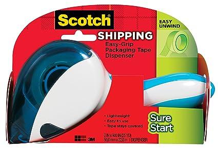 Amazoncom Scotch Easy Grip Sure Start Packaging Tape Dispenser