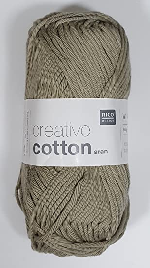 Ovillo de lana para tejer a mano de algodón de la marca Rico ...