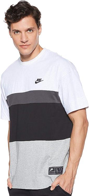 NIKE M NSW Air Top SS - Camiseta de Manga Corta Hombre: Amazon.es: Ropa y accesorios