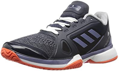 new product 1bea5 19915 adidas Womens Asmc Barricade 2017 Tennis Shoes, LegbluSuper PurpleWhite,  (