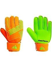meteor Goalie Gloves for Kids Goalkeeper Gloves Football Goalkeeping Gloves  Boys Youth Adult Junior Children Strong 2b6183d6b