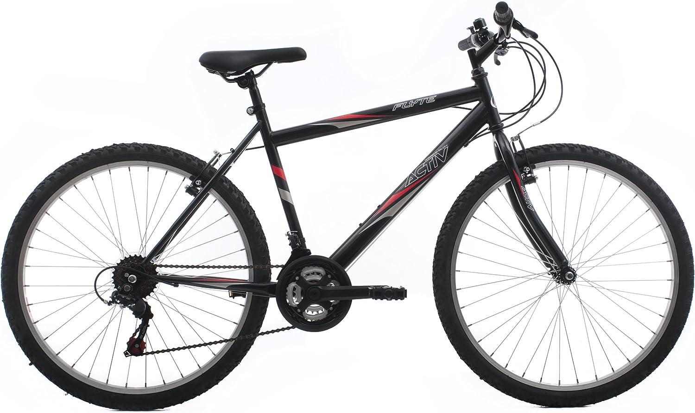 Raleigh FLY21MBK - Bicicleta de montaña para Hombre, 19 in, Color ...