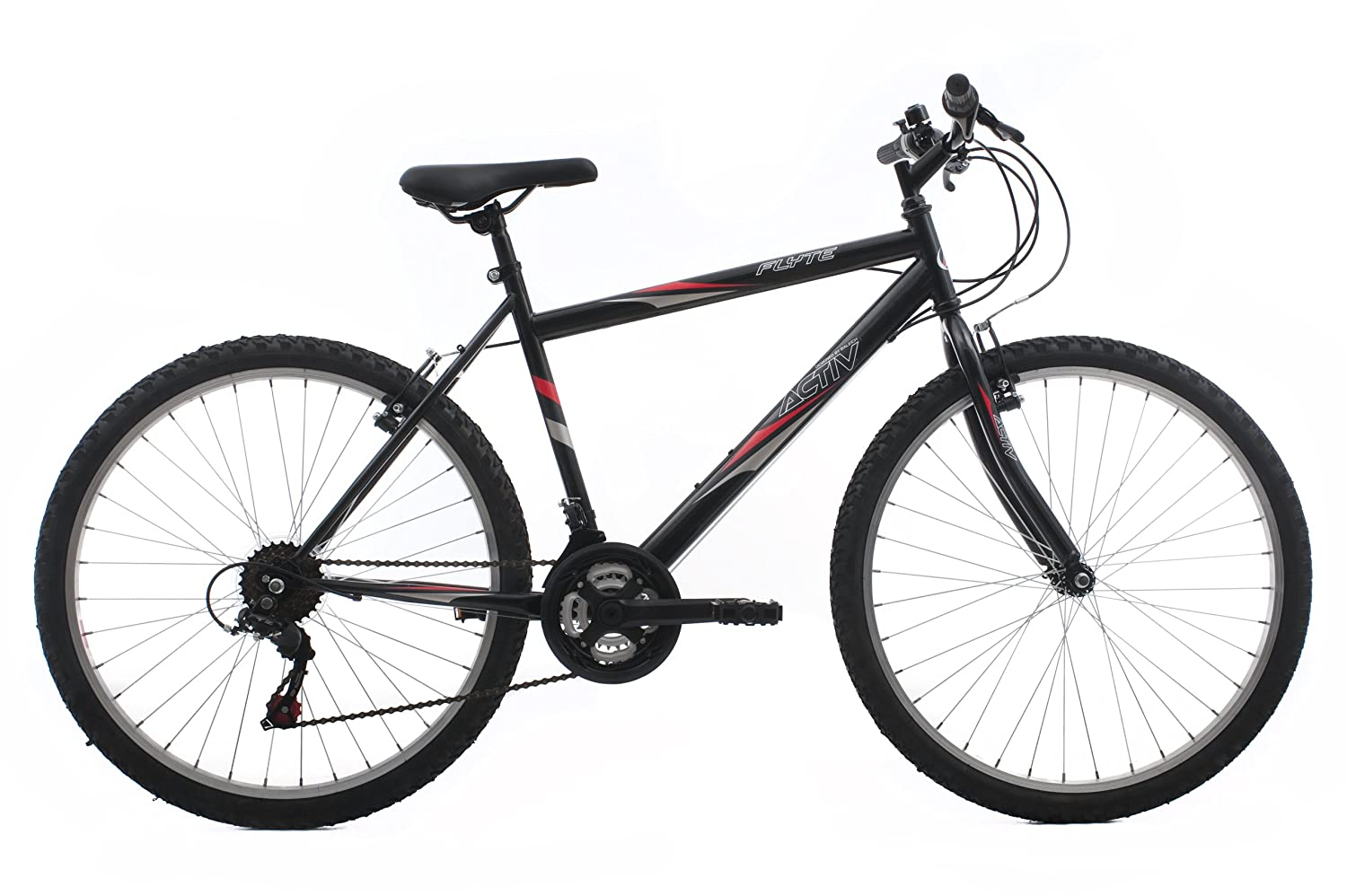 Activ By Raleigh Flyte Ii Men S Rigid Mountain Bike Black 19