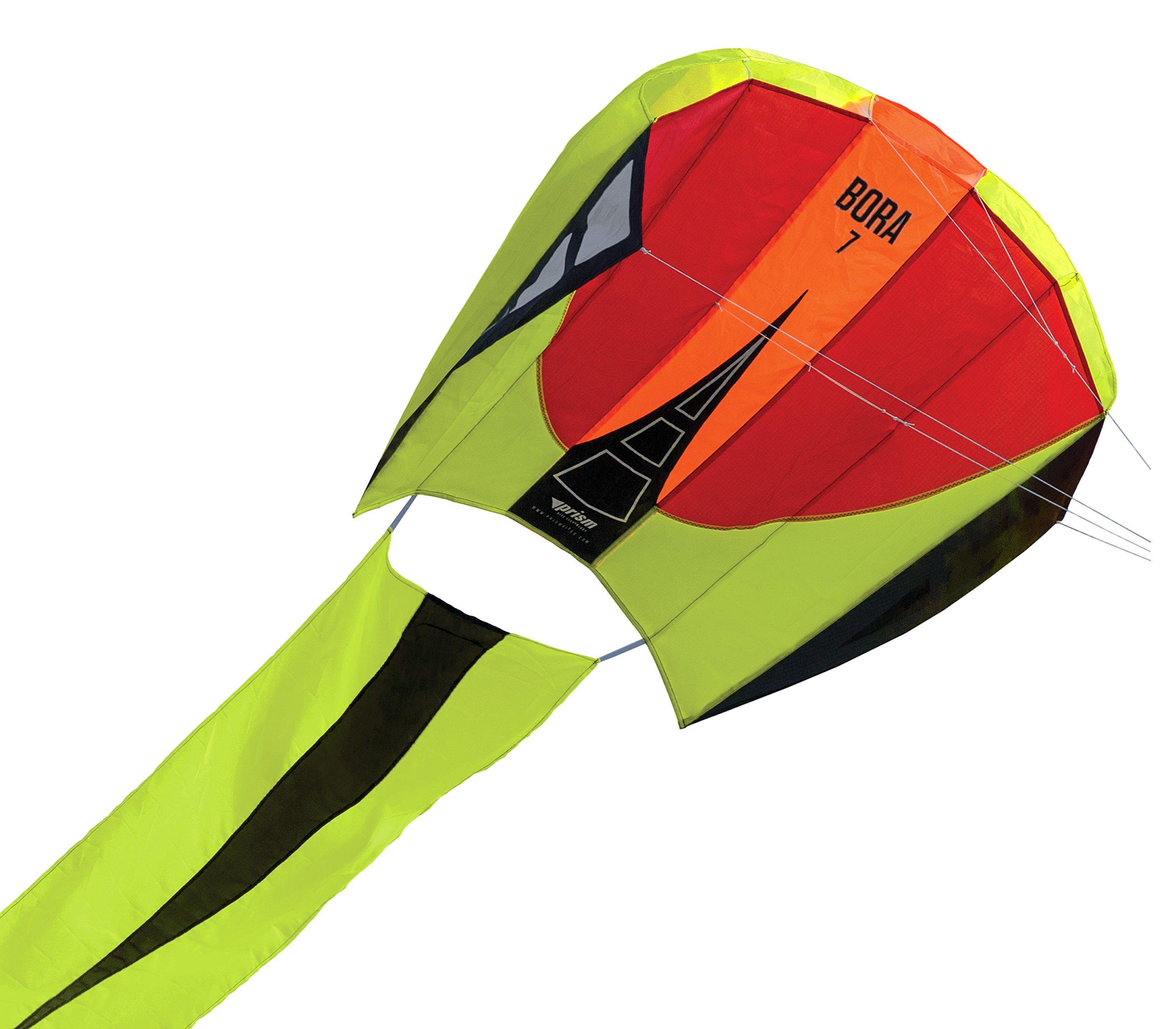 Prism Bora 7 Single-line Parafoil Kite, Blaze by Prism Kite Technology