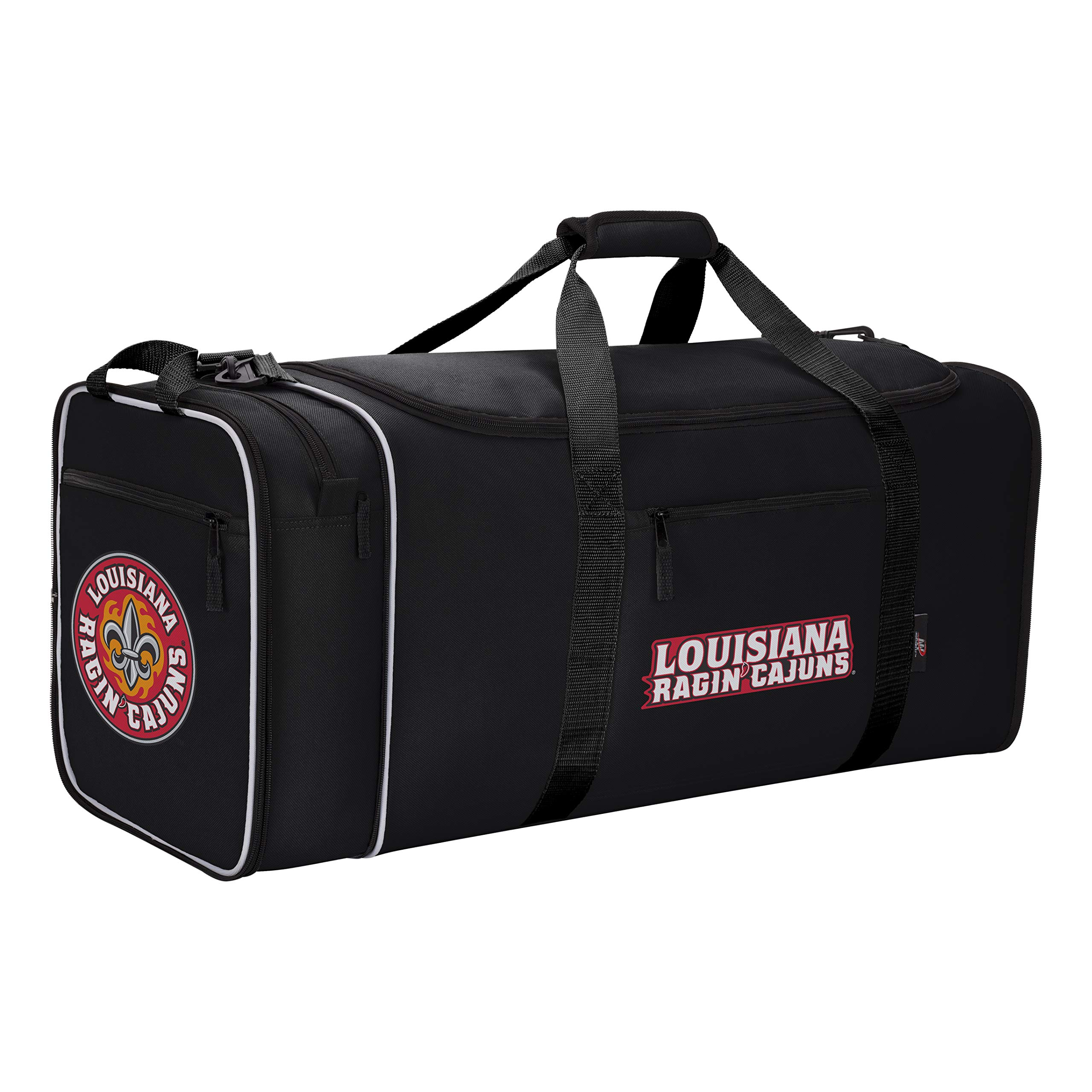 NCAA Unisex Steal Duffel Louisiana@Lafayettet Black by The Northwest Company (Image #1)