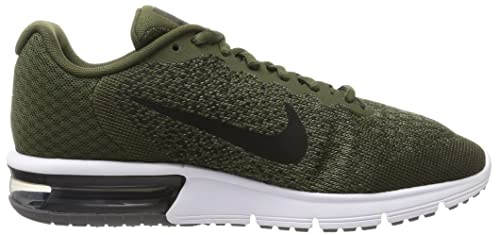 89a7cbf31df22 Nike Men s Air Max Sequent 2 C.Khaki Blk-M.Olive-D.Gry Running Shoes-10  UK India(45 EU)(11 US) (852461-300)  Buy Online at Low Prices in India -  Amazon.in