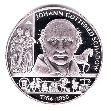 10 Euro Silver Coin 625 2501000 Silver Geb J G Schadow