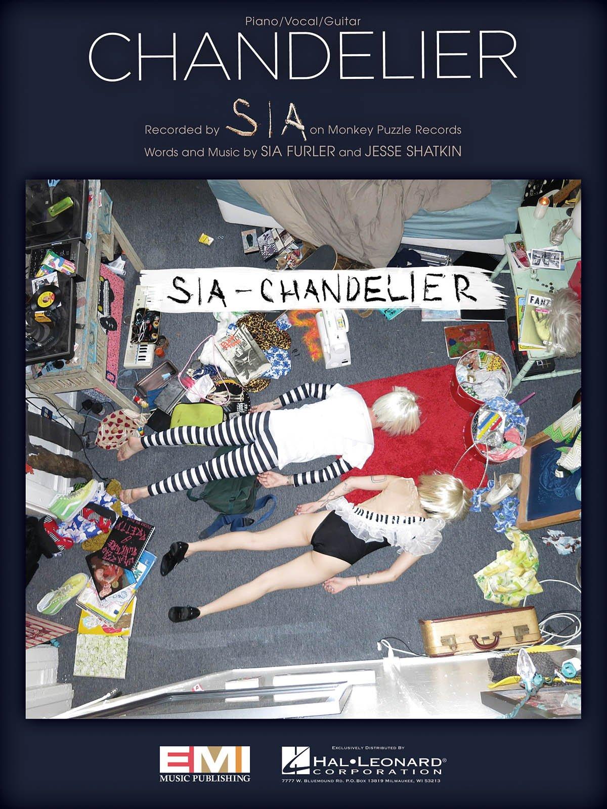 SIA - Chandelier - Sheet Music Single: 0888680029746: Amazon.com ...
