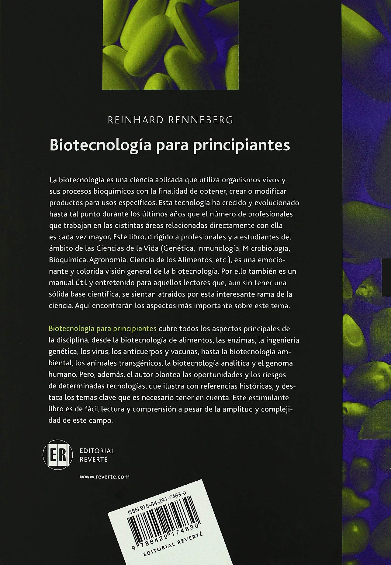 Biotecnología para principiantes: Amazon.es: Reinhard ...