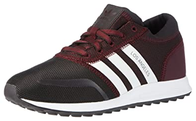 premium selection 4d35a 2d6ac adidas Los Angeles, Basket Mode Homme - Rouge (Maroon Ftwr White Maroon