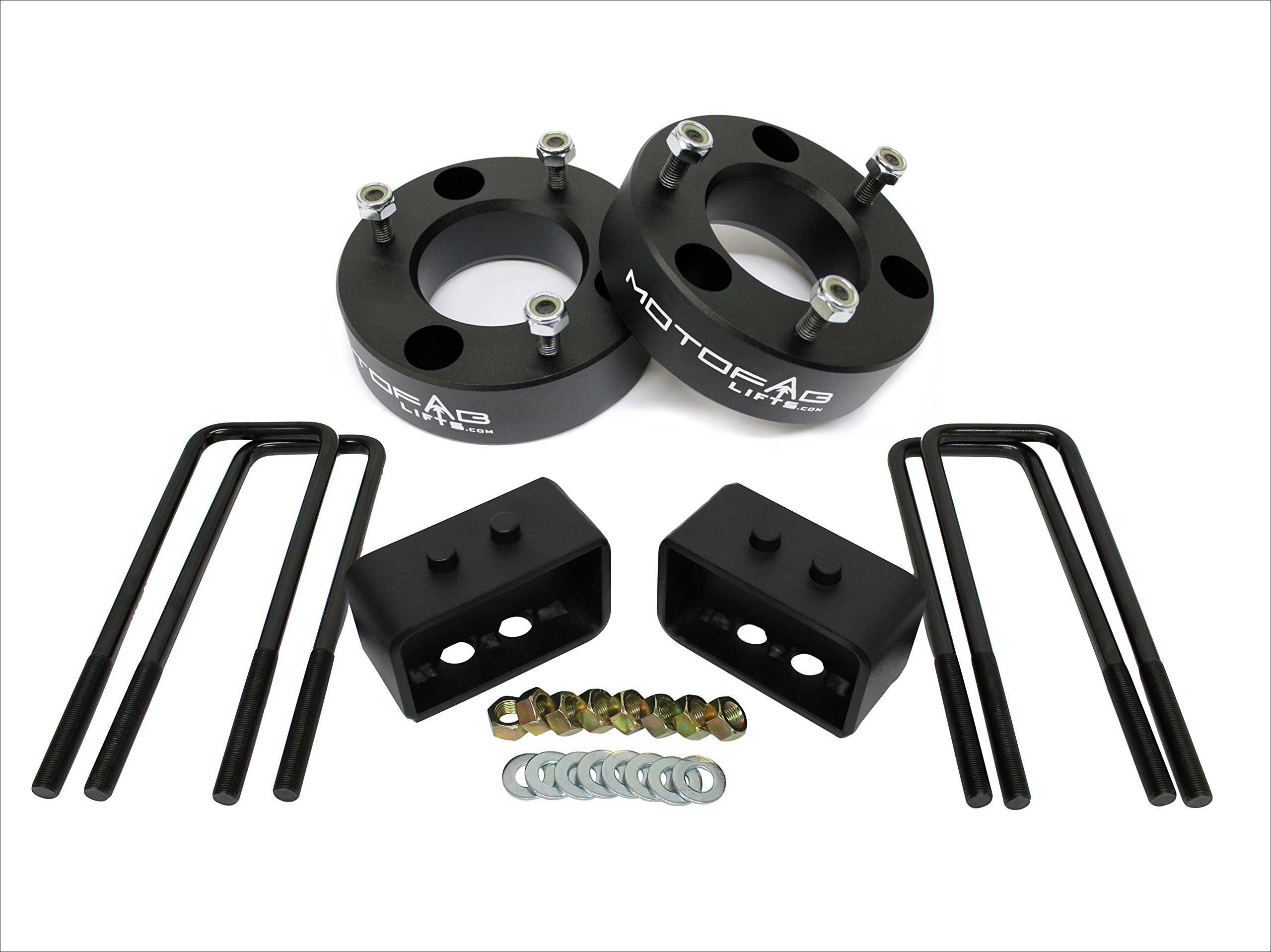 MotoFab Lifts F150-3F-2R 3'' Front and 2'' Rear Leveling lift kit for 2004-2014 Ford F150