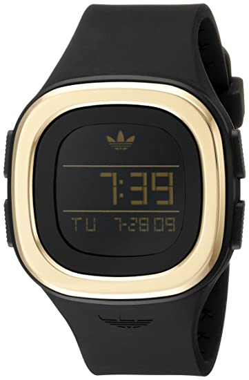 adidas ADH3031 - Reloj de Pulsera Unisex, Silicona, Color Negro: Amazon.es: Relojes
