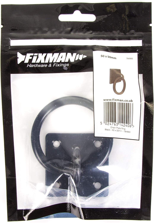 Placa de cadena FIXMAN Anillo Negro 50mm X 50mm 784993