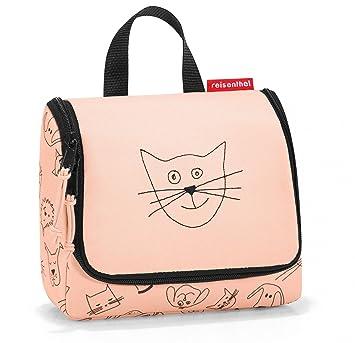 Reisenthel Trousse de toilette S Kids Cats and Dogs, bagage pour enfant, 18 cm, menthe