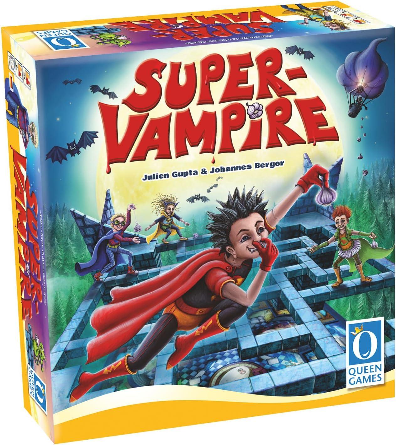 Queen Games 30050 – Super Vampire , color/modelo surtido: Amazon.es: Juguetes y juegos
