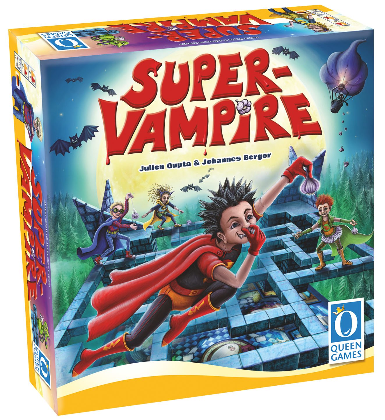 Queen Games Super Vampire amazon