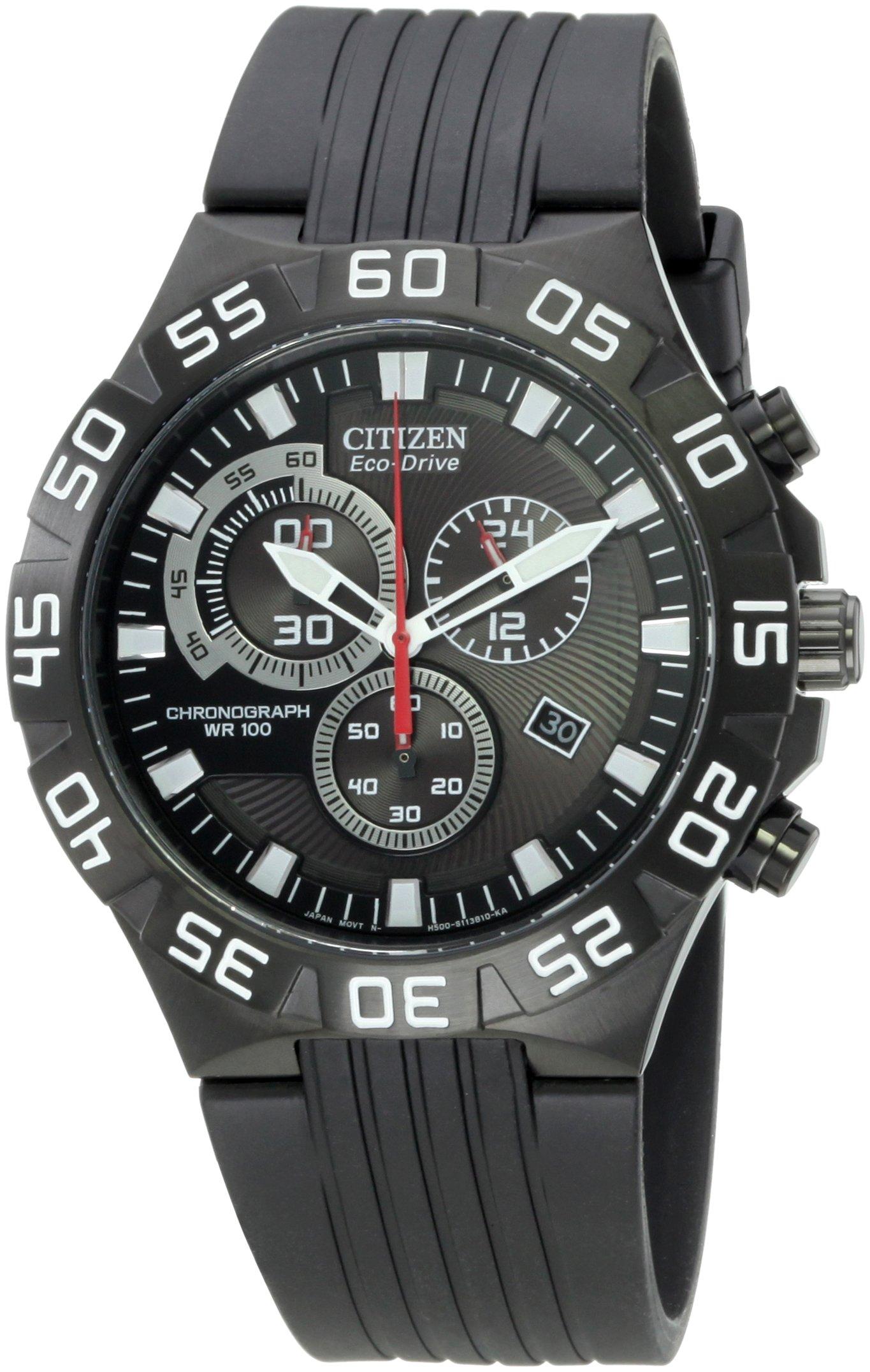 Citizen Men's AT2095-07E Eco-Drive Chronograph Watch