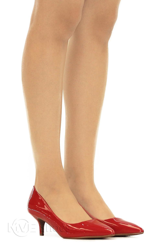 Zapatos MVE Zapatos de tacón bajo con punta de mujer Lipspat   h c99f528a3c