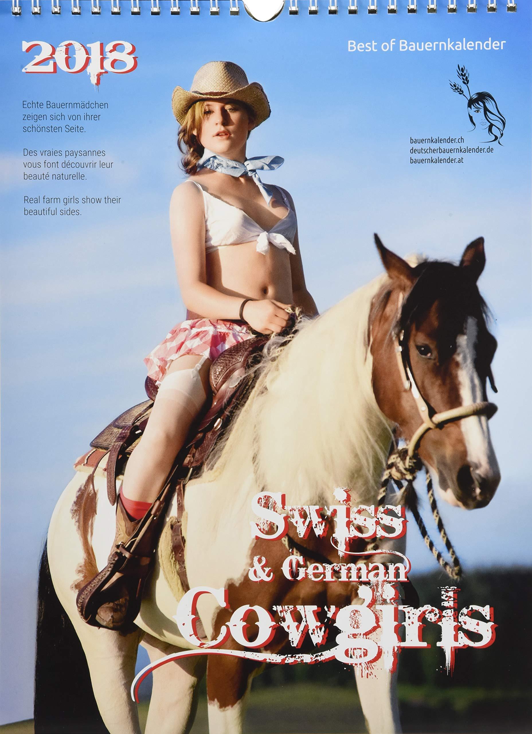 Swiss Cowgirls Pocket Edition des Deutschen Bauernkalenders 2018: Der Kalender von dem alle sprechen - echte Schweizer Cowgirls zeigen ihre natürliche Schönheit