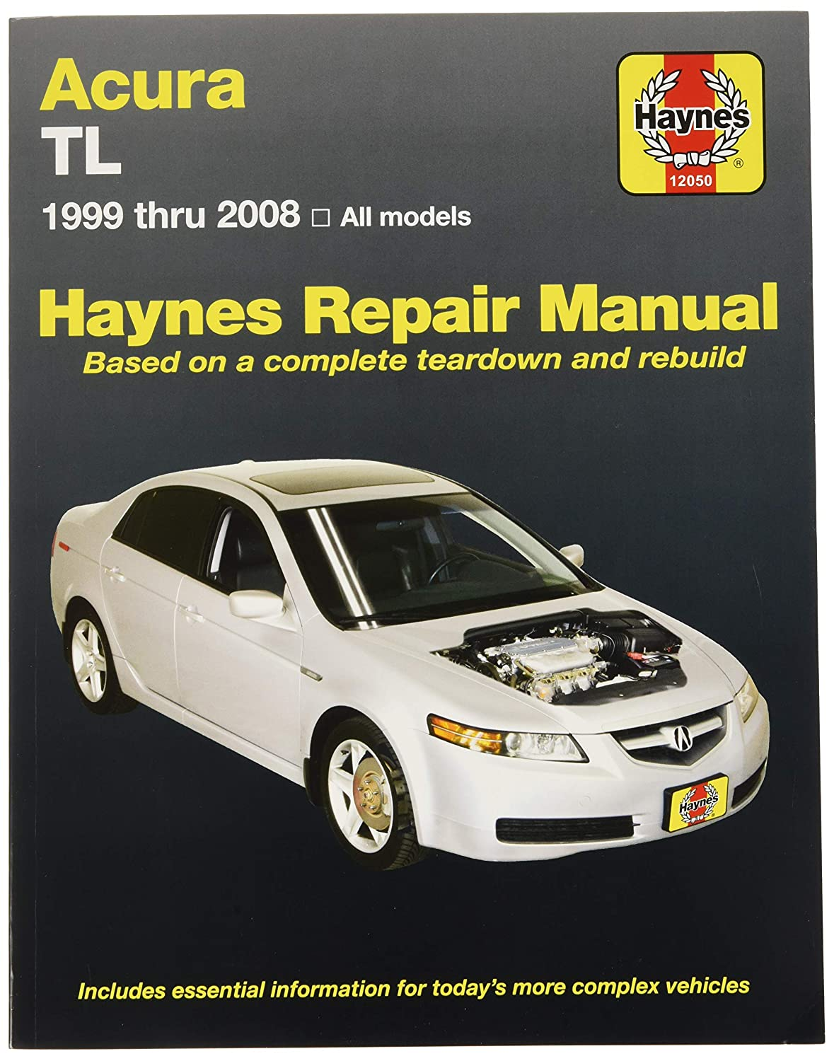 Amazon.com: Haynes Acura TL, 1999 thru 2008 Repair Manual (12050):  Automotive