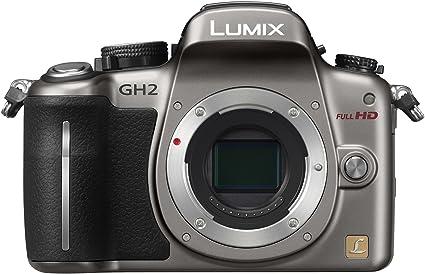 Panasonic GH2 Cámara réflex Digital dmc-gh2-s Cuerpo Plata: Amazon ...