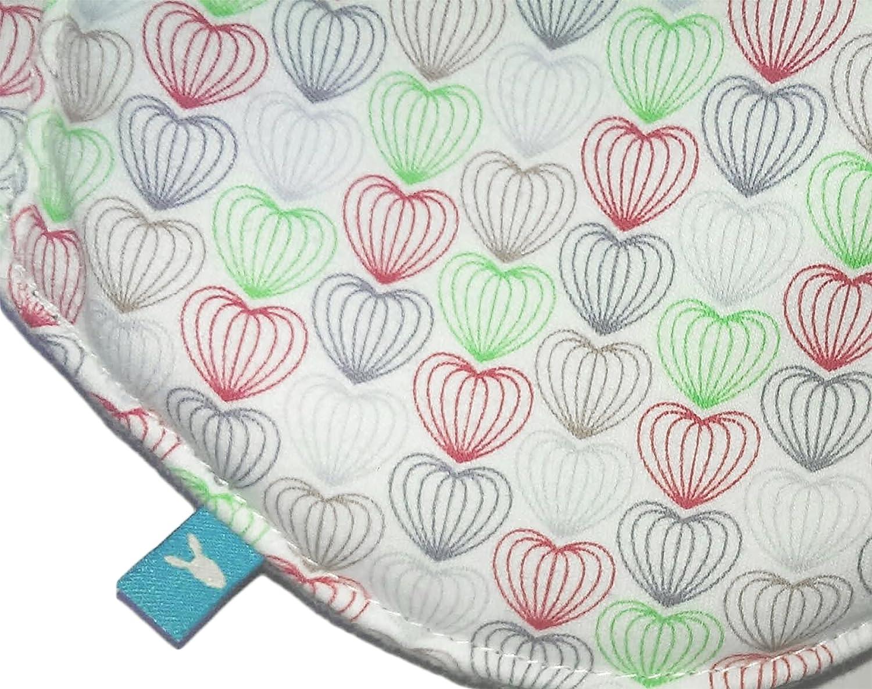e54f0021fdd4bf Wallaboo Babynomade Couverture enveloppante Heart Couverture pour Bébé,  Pratique et élegante, Daim microfibre extra douce, ...