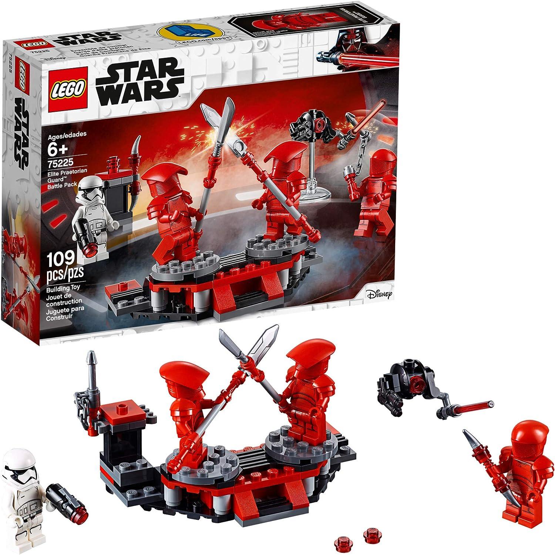 Amazon Com Lego Star Wars The Last Jedi Elite Praetorian Guard Battle Pack 75225 Building Kit 109 Pieces Toys Games