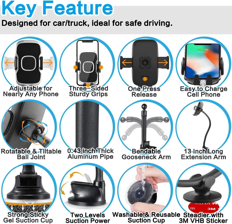 1Zero phone mount holder for semi trucks