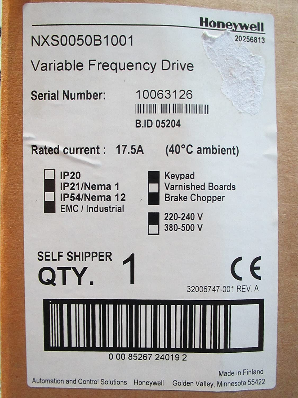 5 Hp Vfd W Display 208 230v 3 Phase N Multi Testers Amazoncom Honeywell Smart Compact