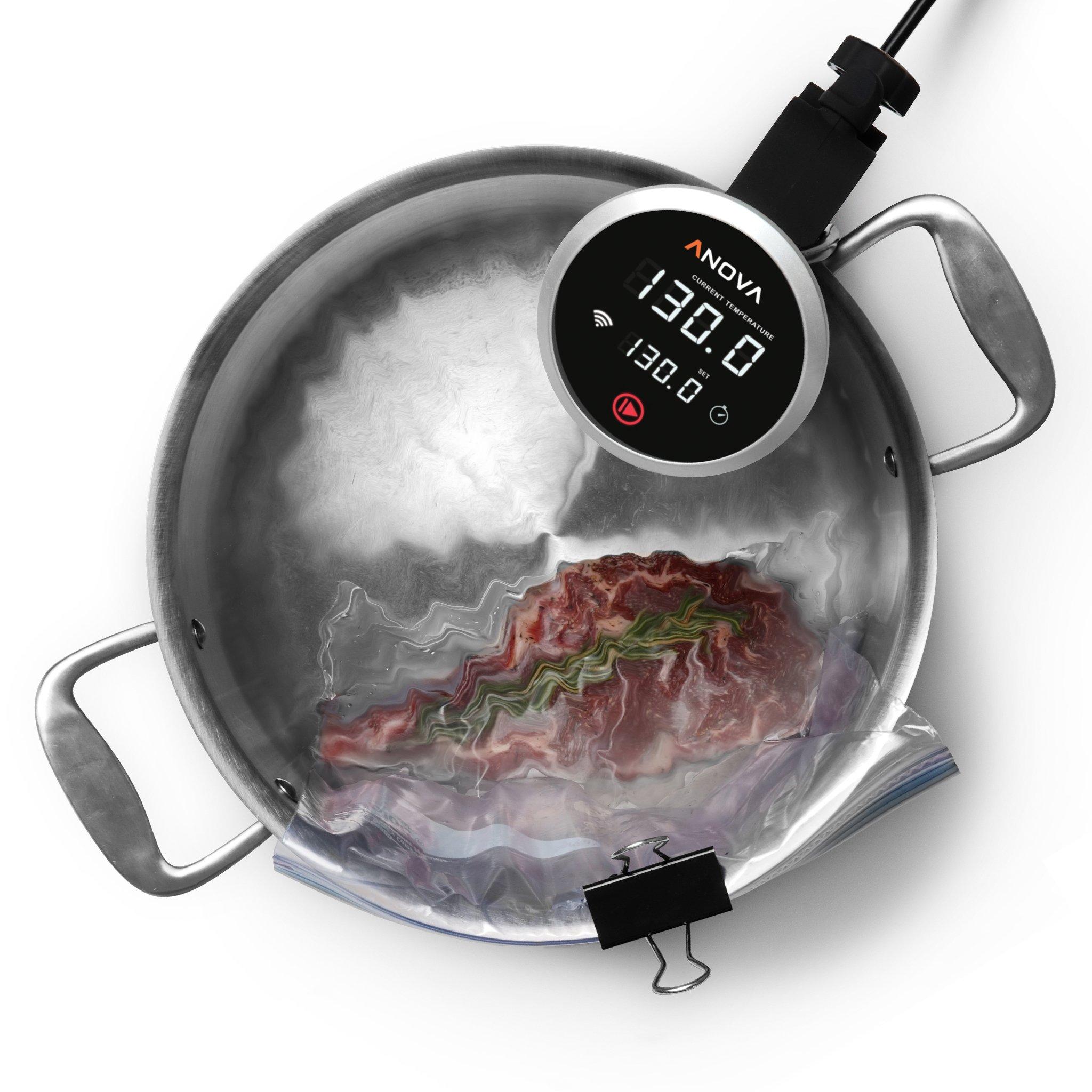 Anova Culinary Sous Vide Precision Cooker WIFI, Immersion Circulator (2nd Gen), 900 Watts, Black by Anova Culinary (Image #5)