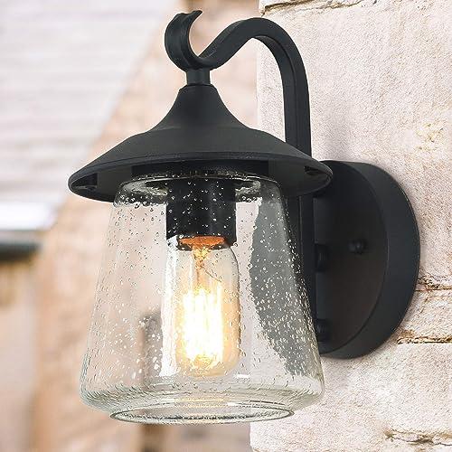 LOG BARN Outdoor Wall Light Farmhouse Exterior Lantern