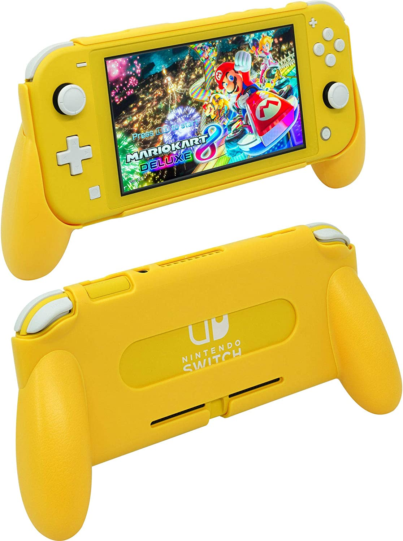ButterFox - Carcasa para Nintendo Switch Lite, Color Amarillo: Amazon.es: Electrónica