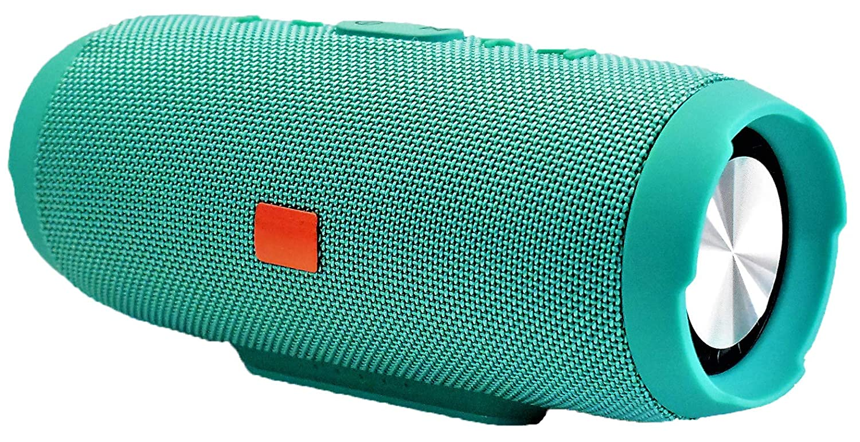 Spica Trading - Charge 3 ポータブル 充電式 Bluetooth 防水スピーカー (グリーン) B07JBBDGPF