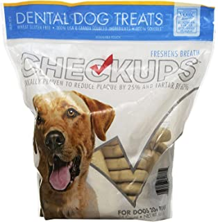 Checkups- Dental Dog Treats, 24ct 48 oz. for dogs 20+ pounds Two